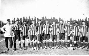 1913 год. Первый международный соперник